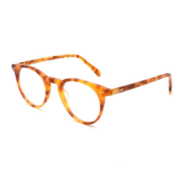 Vintage Round Optical Glasses Frame O Malley Retro Eyeglasses For ...