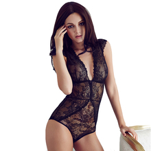 Full Transparent Lace Bodysuit