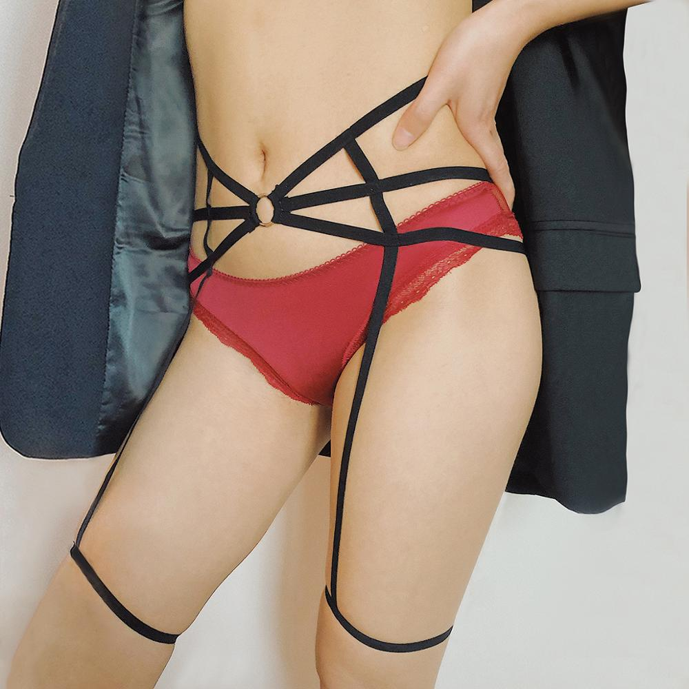 Vanmos Sexy Women Erotic Underwear Body Jewelry Leg Garter Belt Comfortable Flexible Leg Garter Belt Suspender Strap in Body Jewelry from Jewelry Accessories