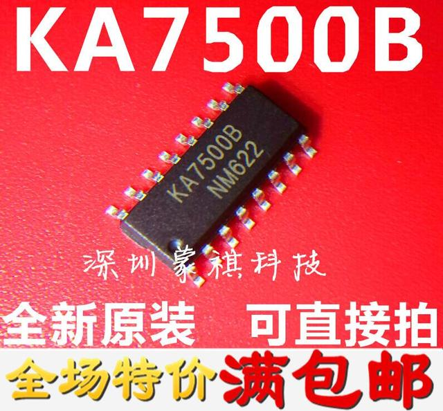 US $3 08  10pcs new genuine KA7500B KA7500BD KA7500 switching power supply  patch SOP 16 penable-in Industrial Computer & Accessories from Computer &
