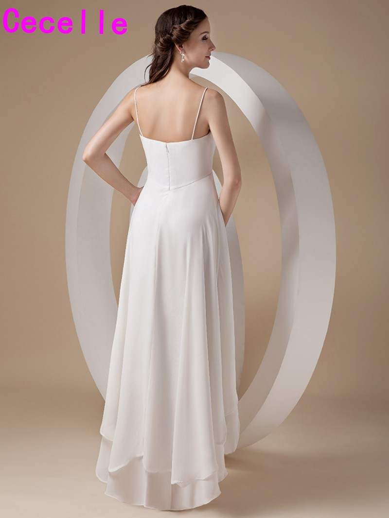 Bonito Vestido De Novia Informal De Marfil Ideas Ornamento ...