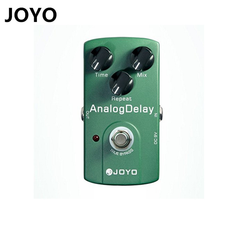 JOYO High Quality JF-33 Analog Delay Electric Guitar Effect Pedal True Bypass Delay Effect