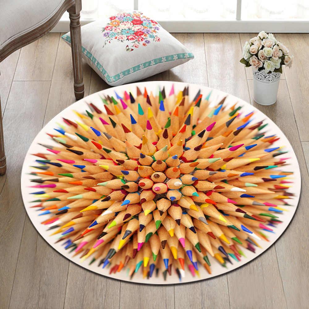 Decor Carpet Kids Play Non Slip Mat Rug