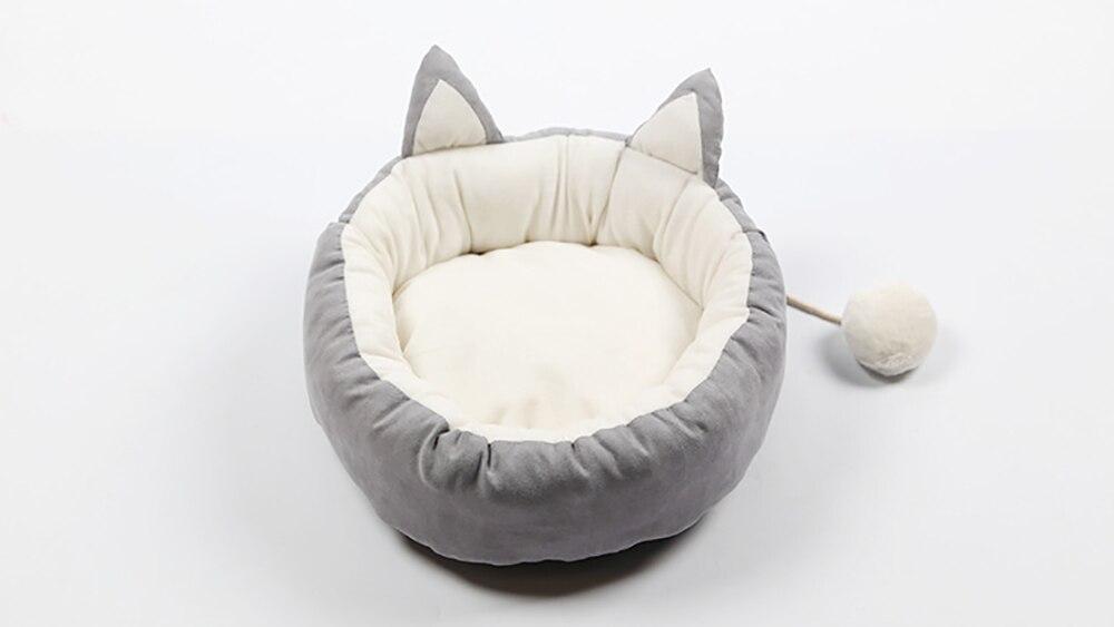 Lit pour chat chauffant