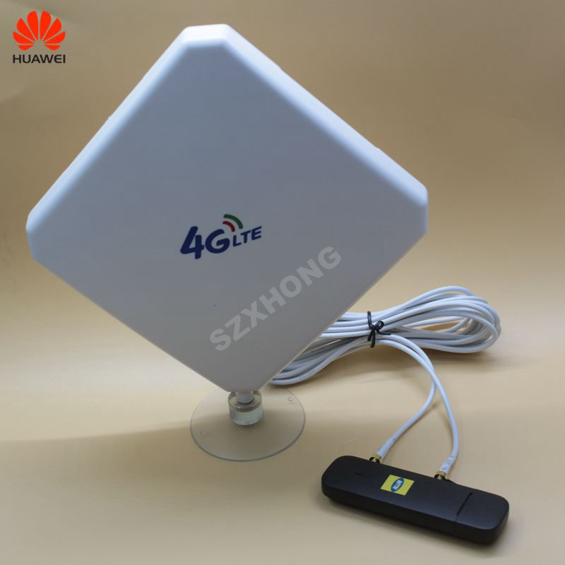 Unlocked New Huawei E3372 E3372h-153 plus a pair of antenna 4G LTE USB Dongle 150Mbps Modem USB modem PK K5160 unlock 4g universal modem usb dongle huawei e3272s 153 lte 4g usb modem plus 2pcs antenna