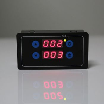 цена на 0.1s-999h Countdown Timer Programmable Cycle Control Module Time Dalay Relay Dual Display Timer Relay 5V/12V/220V