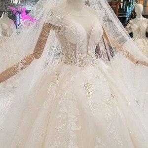 Image 2 - AIJINGYU ロングささやかなドレスガウンシンガポールとロングテールインドネシアプラスサイズ花嫁レース WeddingGown Bridalwear