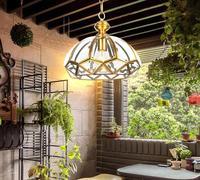 Мода лампы медь стекло Ресторан подвесные светильники балкон открытый ужин гостиная стеклянные подвесные светильники ZL294