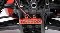 Baja CNC LED Taillight Light Lamp For 1/5 ROVAN KM Hpi Baja 5B Rc Car Parts NEW