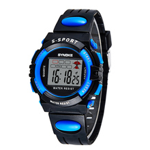 Automatic kids waterproof army military wristwatch Digital Fashion children led sport top quality child chronograph clock