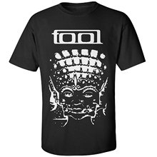 CACshop Mens Tool Band T Shirt Cartoon Print Short Sleeve Free Shipping Harajuku Cool T-Shirt Homme Fashion Men