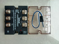 SA34015D Three Phase AC solid state relay Load Voltage 40 530VAC, control vollage 3 32VDC ,free shipping