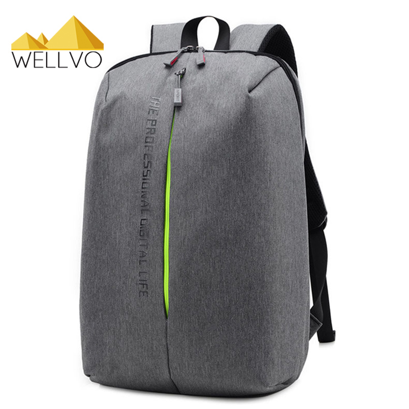 Men Laptop Backpack Canvas Notebook Backpacks Teenage Boys School Bag Men's Large Capacity Travel Bags Students Rucksack XA1965c oxford bag korean version of the female students shoulder bag large capacity backpack canvas backpacks