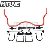 H TUNE 4x4 аксессуары 22 мм задний рулон управления Sway Bars для Hilux VIGO 05 14