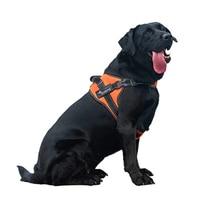 Top Quality Reflective Nylon Large Pet Dog Harness All Weather Service Dog Ves Padded Adjustable Safety