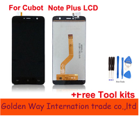 Angcoucoux For Cubot Note Plus 4G 5 2 LCD Display Touch Screen Glass Sensor Digitizer Assembly
