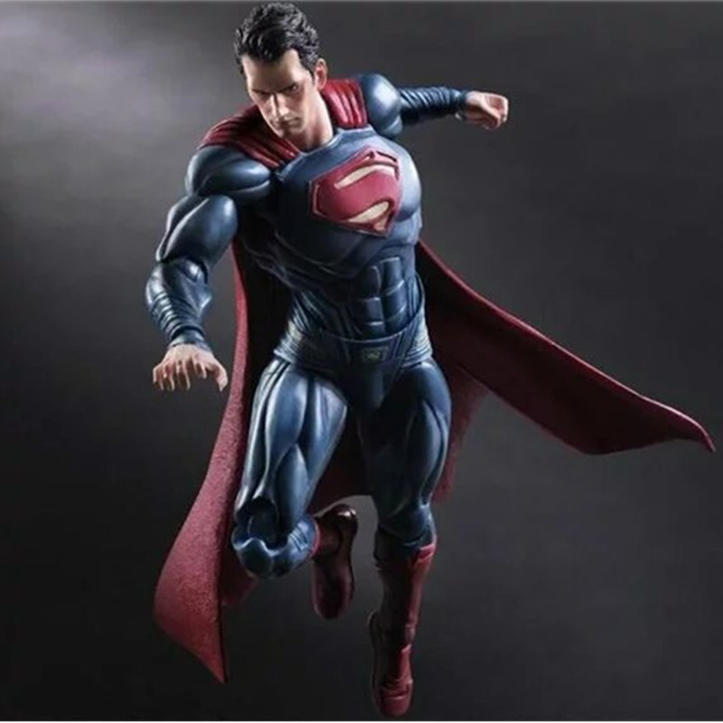 Play Arts Batman VS Superman Dawn Of Justice Model Toys Anime Kids Birthday Gift PVC Action Figure Collectible Model Toy L513 shf figuarts superman in justice ver pvc action figure collectible model toy