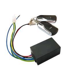 Travamento de ebike elétrico para motocicleta, alarme inteligente, 36v, 48v, 60v, 72v, com interruptor, para bicicleta triciclo e bicicleta