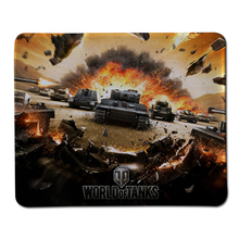 Top Selling World of Tanks Gaming Mouse Pad Computer Notebook Rubber Mice Mat Stitched Edge Speed Up Mousepad
