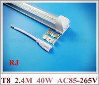 ขนาดกะทัดรัดโคมไฟหลอดไฟLED T8หลอดนีออน2400มิลลิเมตร2.4
