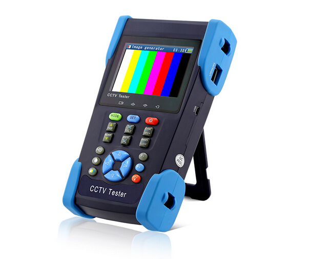 HDCVI TVI  AHD HD coaxial camera tester CCTV tester monitor 1080P analog camera testing PTZ contro (HDCVI TVI SDI TDR optional)