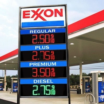 8″ led gas price sign, Led Fuel/Oil Price Sign,Gas Station Billboard Price Sign display outdoor