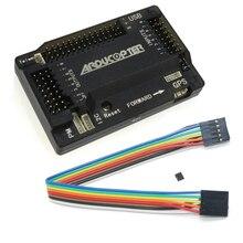 APM2.8 CONTROLADOR DE VUELO multicóptero APM 2,8, 2,5, compás incorporado actualizado, pin recto con funda para cuadricóptero RC