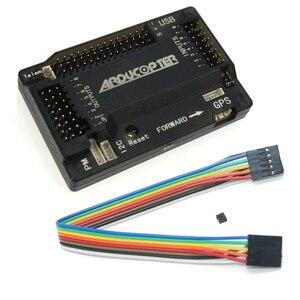 Image 1 - APM2.8 CONTROLADOR DE VUELO multicóptero APM 2,8, 2,5, compás incorporado actualizado, pin recto con funda para cuadricóptero RC