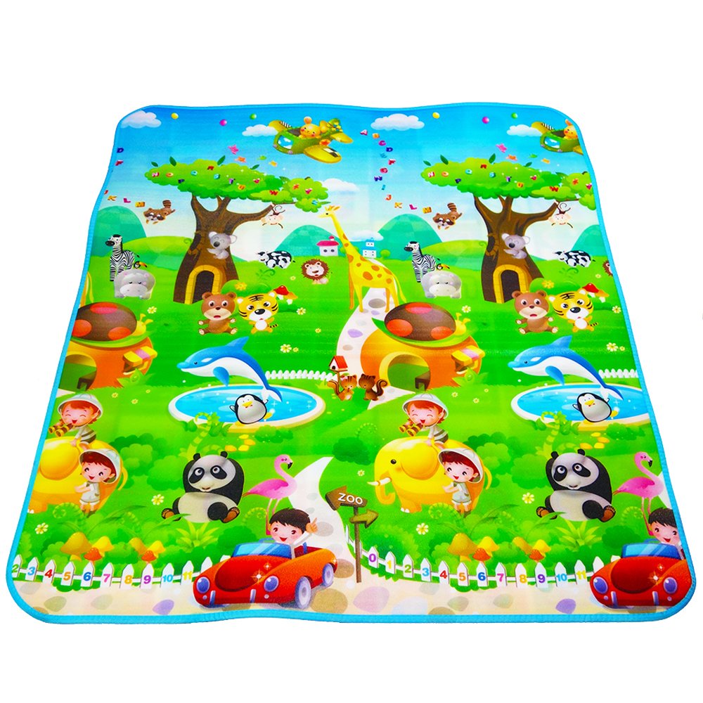 Maboshi Double Fruit Letter Baby Play Mats Crawling Pad Kids Game Carpet  Toys For Children Developing Rug Mat For Children Rug In Play Mats From Toys  ...