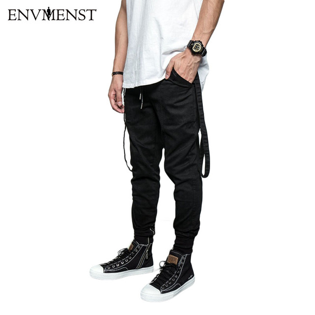 ee7e6d39a4c 2017 New Dry Men s Pants pocket Full Length Men HIPHOP joggers Pants Plus  Size Trousers men belt women streetwear