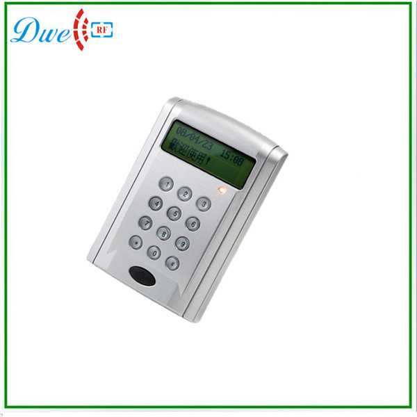 ФОТО Free shipping  White data time and door bell function support Numeric LCD dispaly access control keypad reader