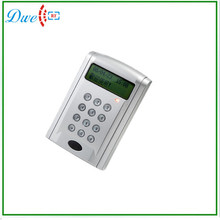 Free delivery  White knowledge time and door bell operate help Numeric LCD dispaly entry management keypad reader