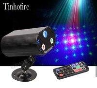 Mini Intelligent Remote Control 3 Hole 36 Patterns Stage Laser Light LED Red Blue Green Light