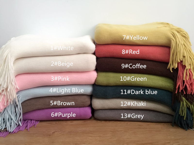 Back drop blanket No pleats Pure colour Newborn Photography Blanket,Blanket Photo Props,Knitting blanket(160cmx130cm)
