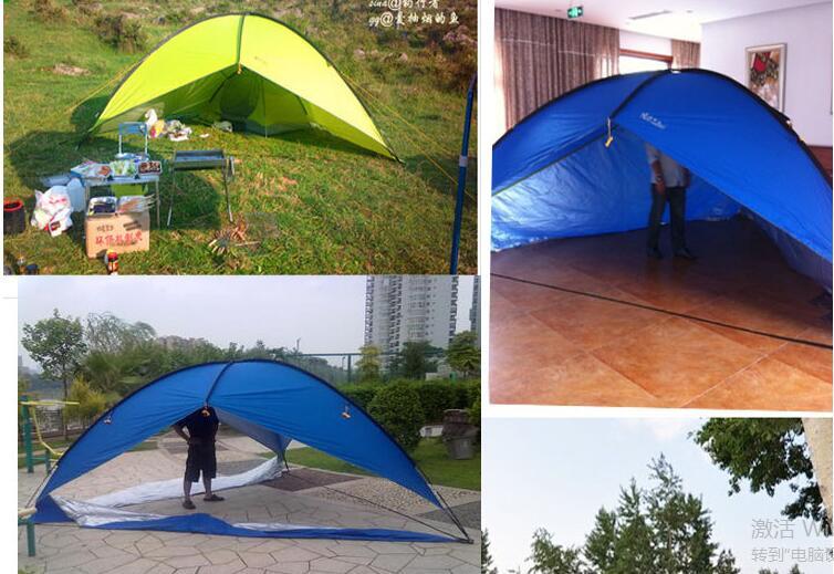 grande pergola triangular resistente à água tenda de praia protetor solar tenda
