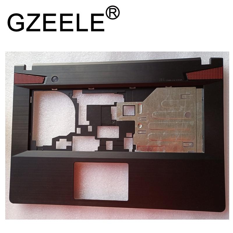 GZEELE New For 14inch FOR Lenovo Y400 Y400N Y410P Y430P Series Upper Case Palmrest Cover AP0RQ000C0J