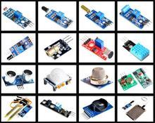 Wholesale 16pcs/lot Raspberry Pi 3&Raspberry Pi 2 Model B the sensor module package 16 kinds of sensor