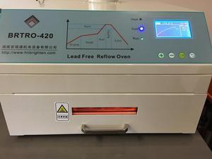 Image 3 - CHM 420リフロー炉、熱風 + 赤外線2500ワット、300*300ミリメートルbga smd smtリワークsation、220v