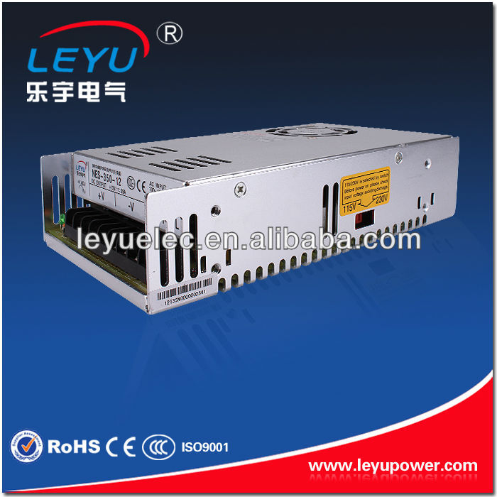 High quality AC DC S-350-36V single output led switching power supply approved CE ROHS