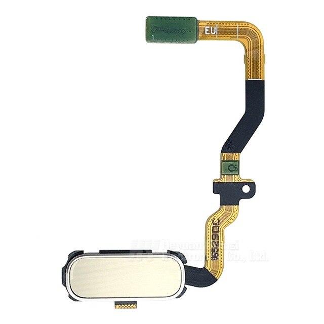 Замена Главная Кнопка Датчик Отпечатков Пальцев Зарядное Flex Кабель Для Samsung Galaxy S7 G930f G930fd G930a G930p Freeshipping