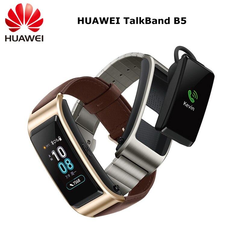 D'origine Huawei Bande B5 Smart Bracelet Couleur Écran Santé Étanche Bluetooth Tactile Plein Écran Tactile Scientifique Sommeil