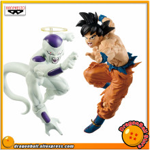 "Japón Anime ""Dragon Ball SUPER"" Original Banpresto etiqueta luchadores vol.1 figura de colección-freezer + hijo de Goku.(China)"