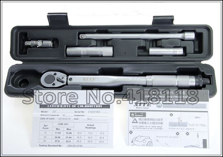 SPARK PLUG SOCKET Torque Wrench Set 3/8