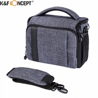 K F Concept High Quality Waterproof Camera Bag Shoulder Bag DSLR Case For NIKON Canon Sony