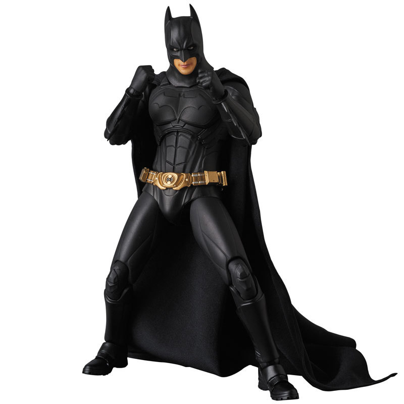 Super Hero Figure The Dark Night Batman Bruce Wayne Begins Suit Ver. PVC Action Figures Collectible Model Kids Toys Doll 18cm