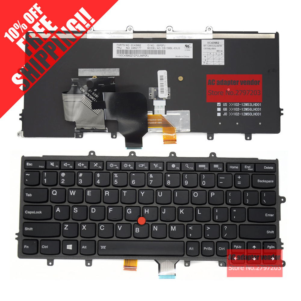 NEW Replace FOR LENOVO Thinkpad X240 X240S X250 X260 X230S X270 laptop Built in keyboard