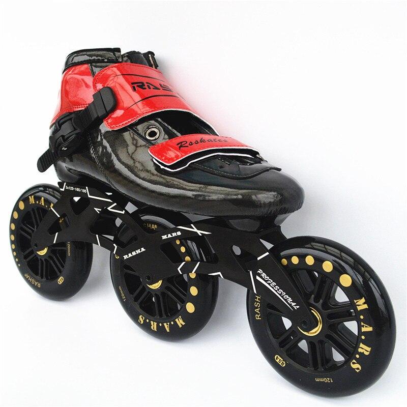 Skate-schuhe Sport & Unterhaltung 2017 Neue Rasha Skates Mars 3*110 3*125 4*110 4*100 Inline Eisschnelllauf Inline Skates Schuhe Hohe Qualität Elegante Form