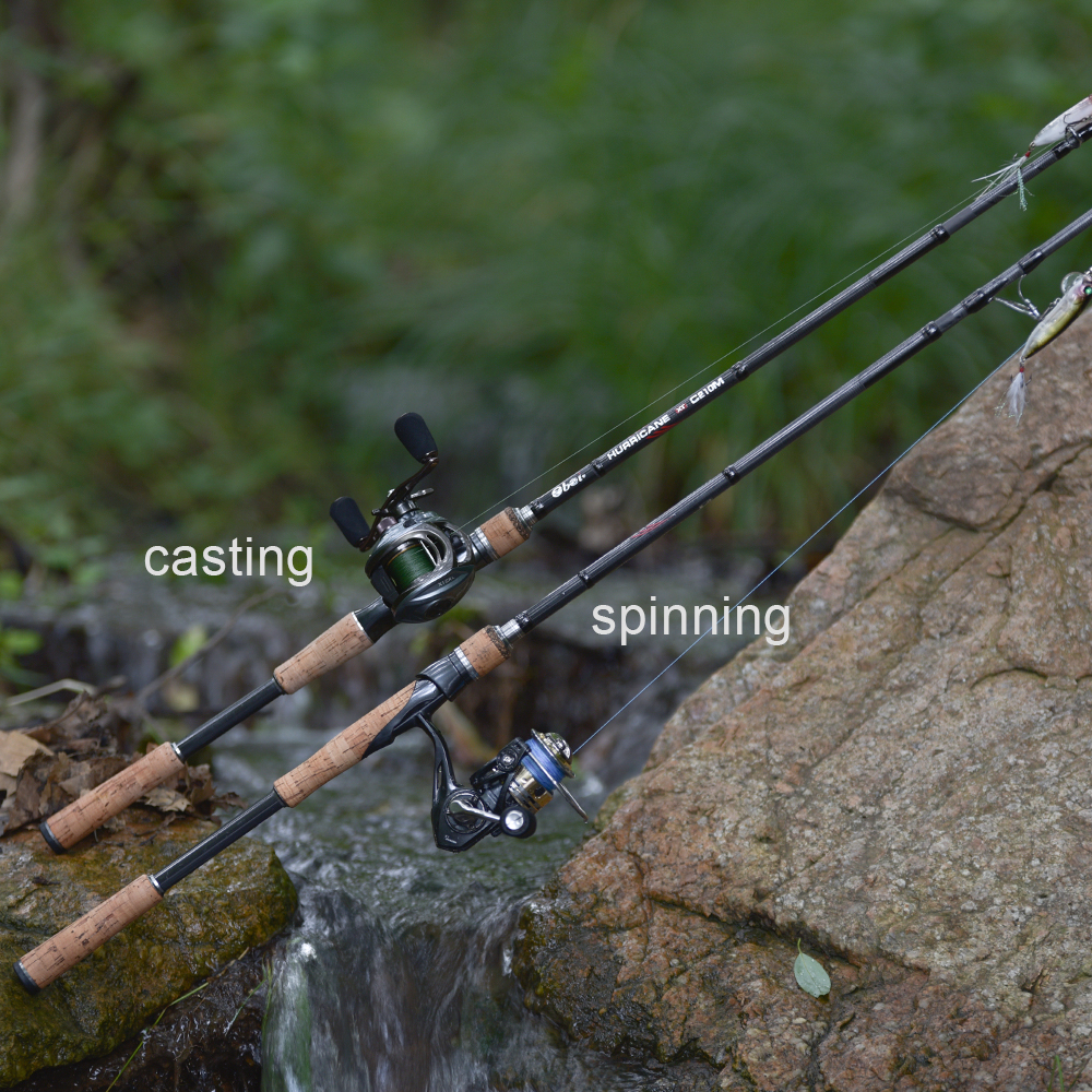 Obei HURRICANE 3 section Bait Casting Fishing Rod in Telescopic Design for Fast Casting and Clear Biting 5