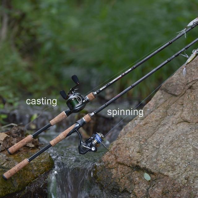 Obei HURRICANE 1.8m 2.1m 2.4m 2.7m 3 section baitcasting fishing rod travel ultra light casting spinning lure 5g-40g M/ML/MH Rod 6