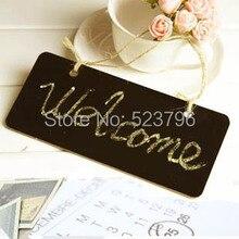 Doorplate оставить wordpad веревкой висячие сообщение доске номер малый деревянные доска
